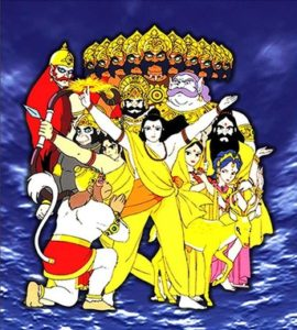 Ramayana: Rama Ouji Densetsu / The Prince of Light: The Legend of Ramayana / Рамаяна